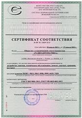 Пример выданного сертификата